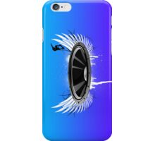 Ride the Bass wave iPhone Case/Skin