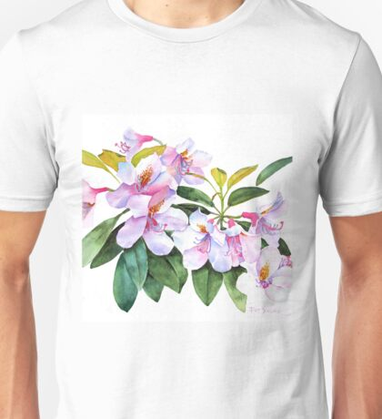 Spring Rhody Watercolor T-Shirt