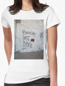 Banksey Womens Fitted T-Shirt