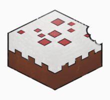 Minecraft Cake Bite Kids Clothes