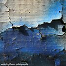 Peeling Paint on a Wall in Venice by Michele Filoscia