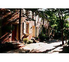 Quince Street-Philadelphia Photographic Print