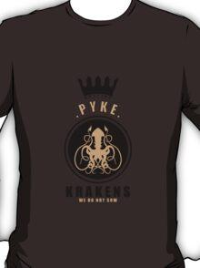 House Greyjoy Sports Badge T-Shirt
