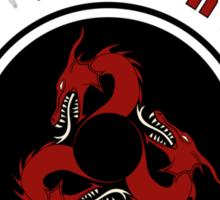 House Targaryen Sports Badge Sticker