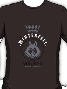 House Stark Sports Badge T-Shirt