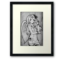 Winged Lolita Framed Print