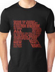Team Rocket R Typography Unisex T-Shirt