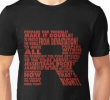 Team Rocket R Typography Unisex T-Shirt