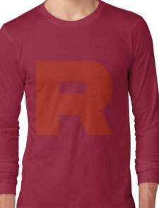 Team Rocket R Long Sleeve T-Shirt