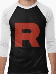 Team Rocket R Men's Baseball ¾ T-Shirt