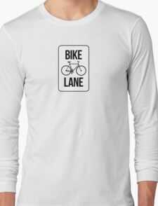 Bike Lane Long Sleeve T-Shirt