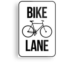 Bike Lane Metal Print