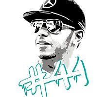 Lewis Hamilton #44 by GKuzmanov