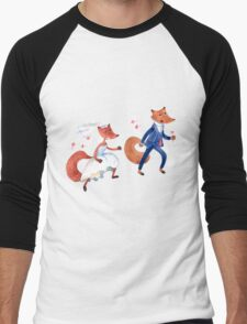 Wedding Escape Men's Baseball ¾ T-Shirt