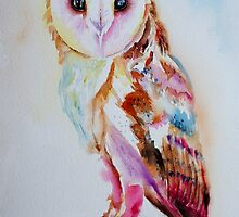Barn Owl by IsabelSalvador
