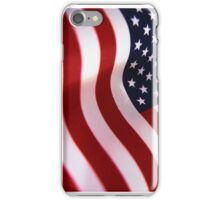 Waving American Flag iPhone Case/Skin