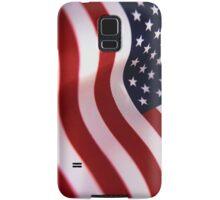 Waving American Flag Samsung Galaxy Case/Skin