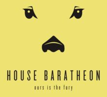 House Baratheon Minimalist T-Shirt by liquidsouldes