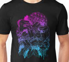 T Rex Pink and Blue Unisex T-Shirt