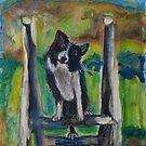 """A dog named """"Indy"""" by Diane  Kramer"""