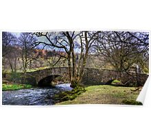 Bridge over the Rothay Poster