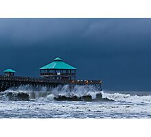 Folly Pier Photographic Print