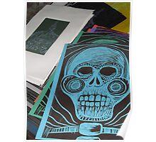 The skull - La Calvera, Puerto Vallarta, Mexico Poster