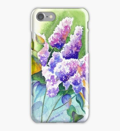 Lilacs in Lavender iPhone Case/Skin