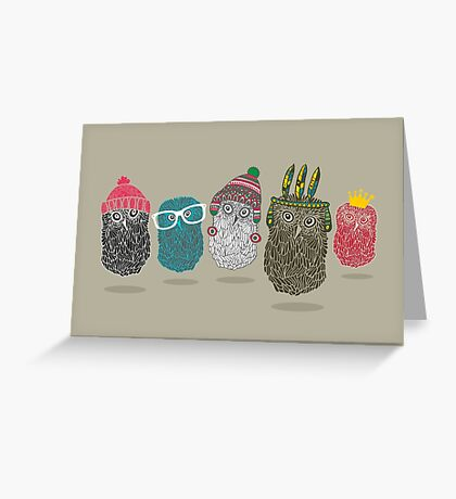 The dudes Greeting Card