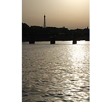 Paris - Seine reflections August 2011 Photographic Print