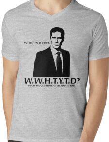 WWHTYTD? Mens V-Neck T-Shirt