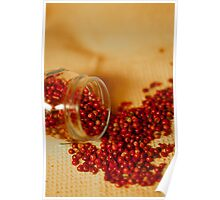 Hot and chilly peppercorns Poster