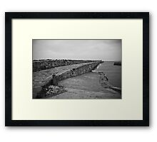 St. Andrews Pier Framed Print