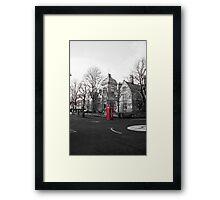 Phone-booth Framed Print