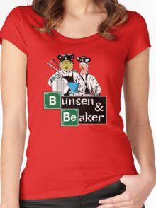 Bunsen & Beaker Women's Fitted Scoop T-Shirt
