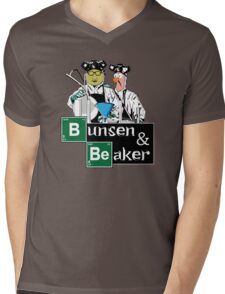 Bunsen & Beaker Mens V-Neck T-Shirt