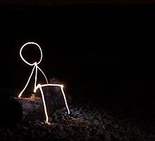 Stick Man - Quiet Time by donnyburger