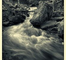 Above Mohawk Falls November 2011 by Aaron Campbell