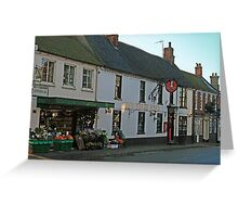 The Kings Head, Holt Greeting Card