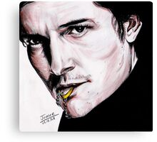 Orlando Bloom, British actor. Canvas Print