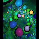 Skittles in My Lava Lamp iPhone Case by christopher r peters