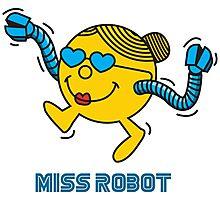 Miss Robot Photographic Print