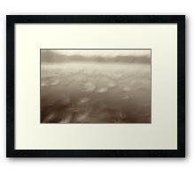 Deep within a dream Framed Print
