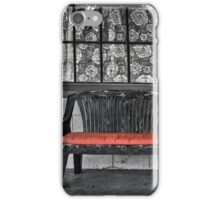 Window and Old Bench Seat iPhone Case/Skin