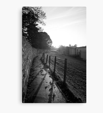 Fence Profile Canvas Print