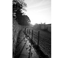 Fence Profile Photographic Print