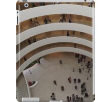 Looking Down at the Guggenheim Museum, Frank Lloyd Wright, Architect, New York City  iPad Case/Skin