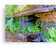 botanic garden HDR Canvas Print
