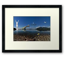 The Other Side Of The Lake Framed Print