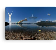 The Other Side Of The Lake Canvas Print